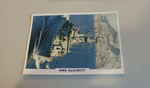 1974 HMS Alacrity frigate warship framed picture